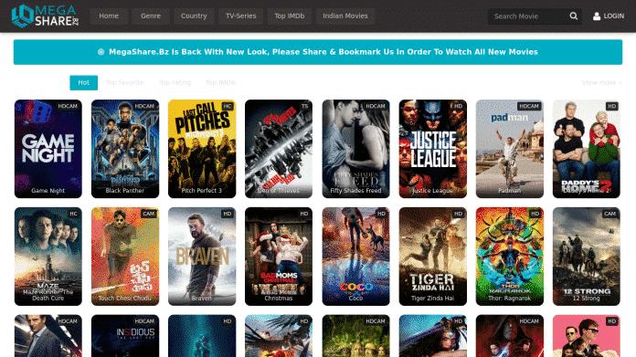Best 3 alternatives to the popular movie streaming website, MegaShare - 2018