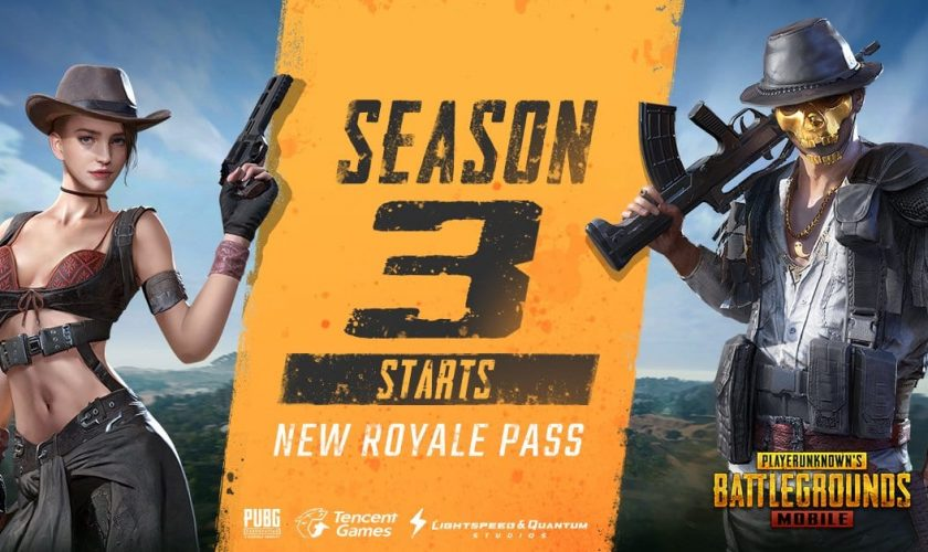 PUBG Mobile Season 3 with new Royale Pass update is here!