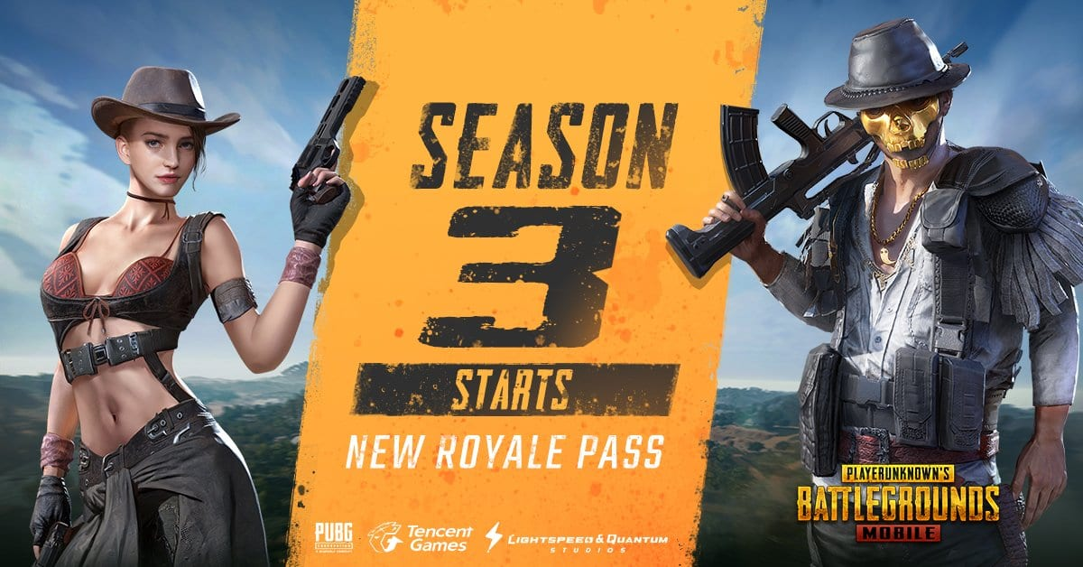 Pubg Mobile Season 3 Update With New Royale Pass Is Here