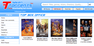 SevenTorrents Shuts Down After 10 Years; Moves Database To New Torrent Site