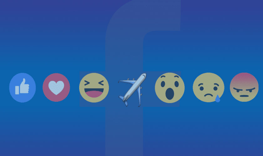 Facebook accidentally releases airplane reaction emoji