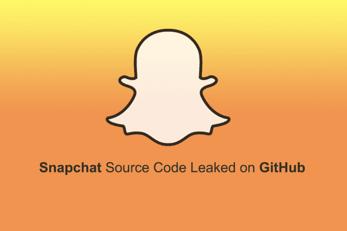 Snapchat Source Code Leaked, Posted Publicly On GitHub