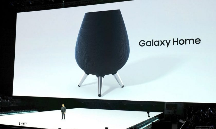 Samsung showcases its first smart speaker, the Galaxy Home