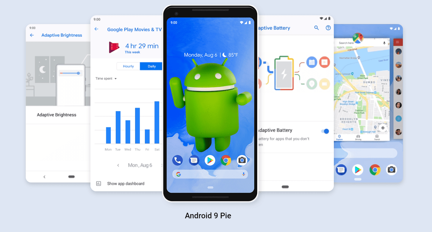 Image result for Android 9 Pie: what's new and when does it come out?