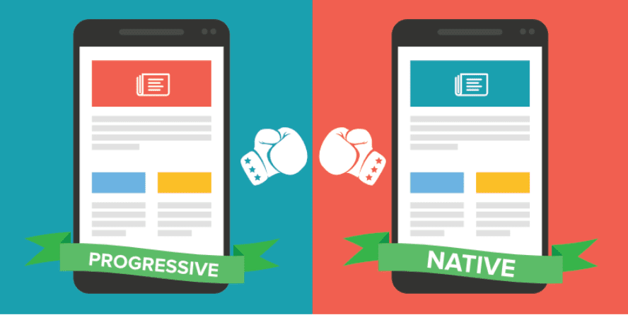 Progressive Design vs. Apps