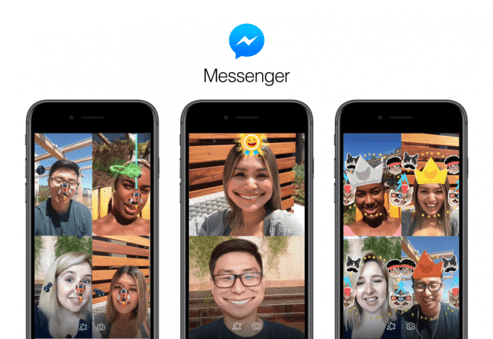 Facebook launches AR games for Messenger app