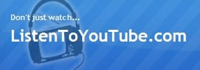 top 5 free online YouTube to MP3 converting websites- ListenToYouTube