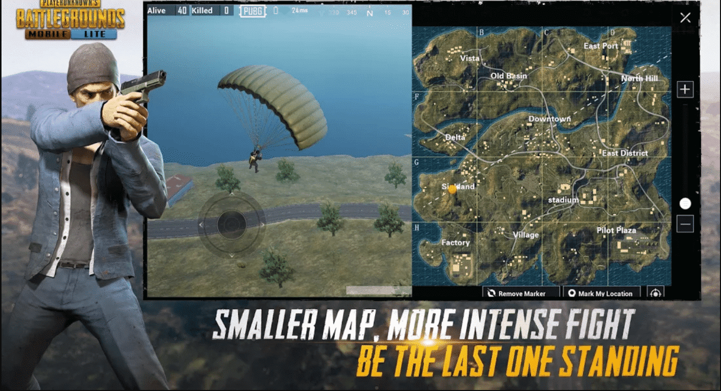 pubg mobile lite smaller map