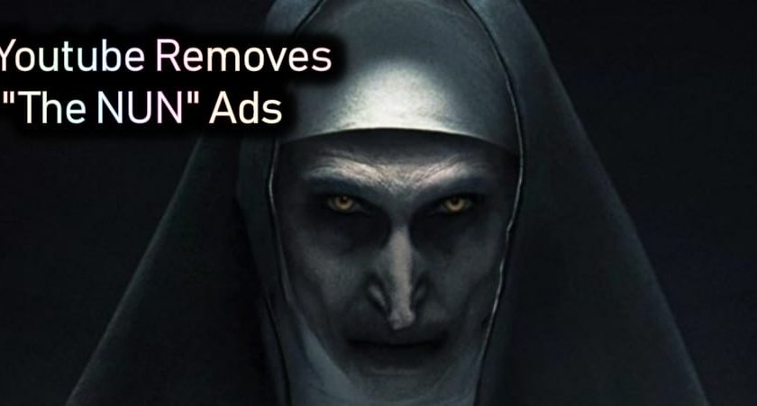 YouTube Removes The Nun Trailer Because Of 'Shocking Content'
