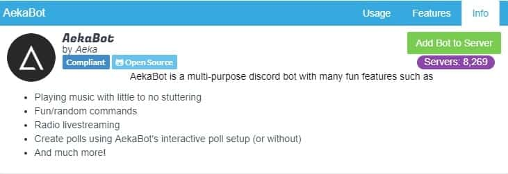 Add Bot To Server