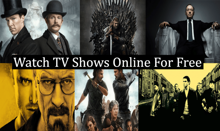 Watch TV Shows Online For Free, Sites For Streaming Full Episodes