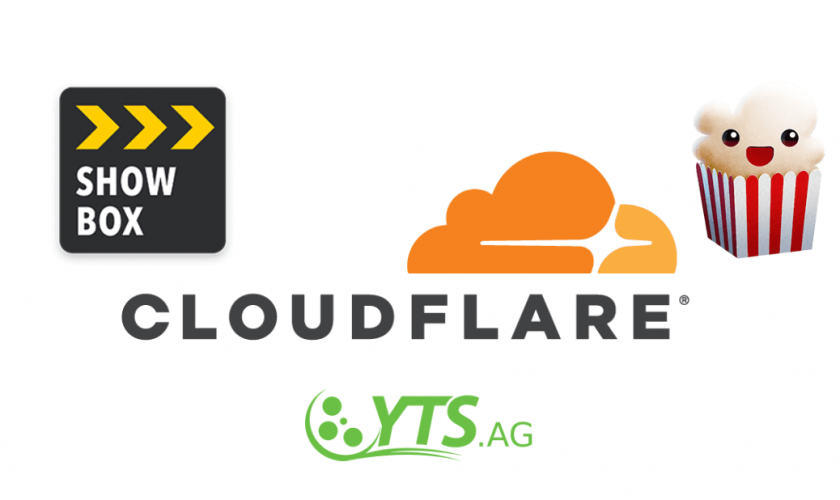 Cloudflare requested to expose Showbox, YTS and Popcorn Time site operators