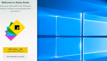 Microsoft roles out new style Sticky notes 3 for windows 10