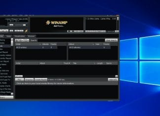 Winamp's new beta version 5.8 leaks online