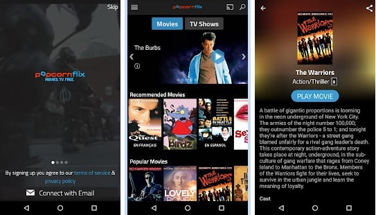 Top&best free movie streaming apps for android&ios.