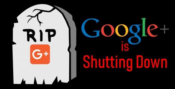 Google+ Is Shutting Down Following Security Breach