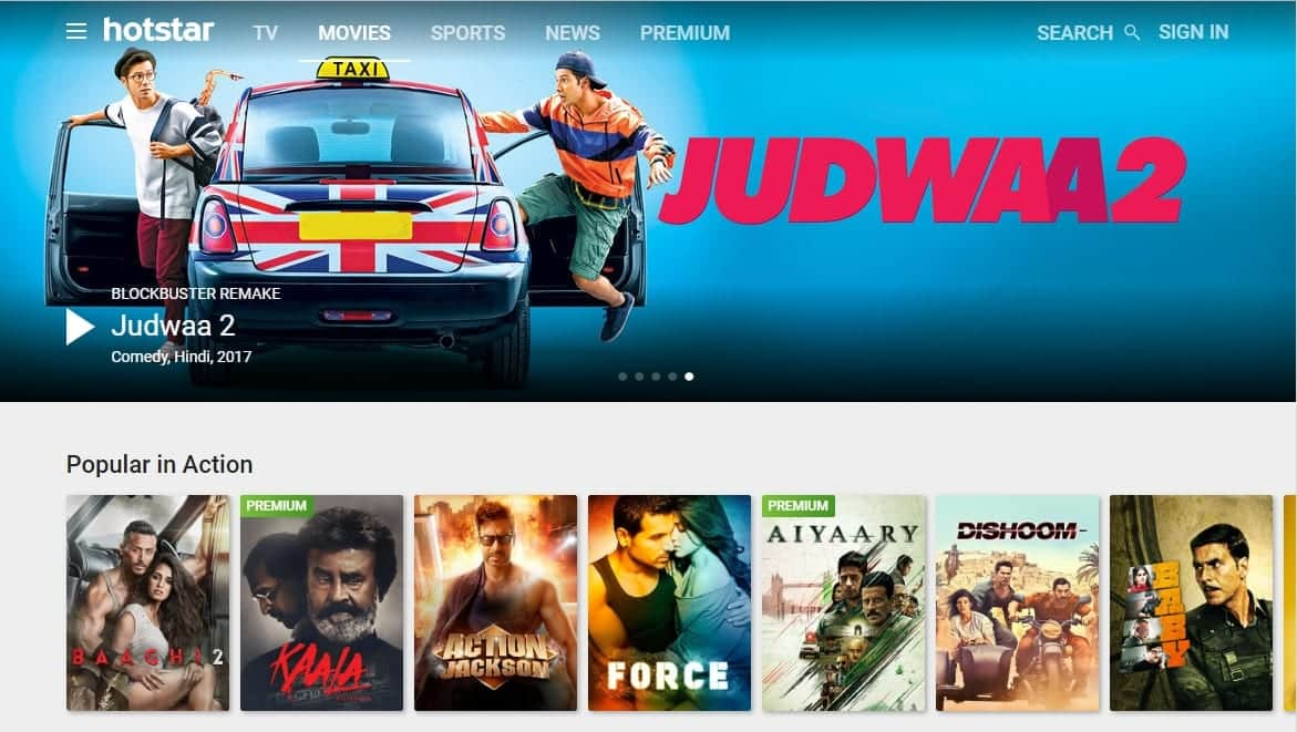 10 Best Sites To Watch Hindi Movies Online Free And Legally In 2018