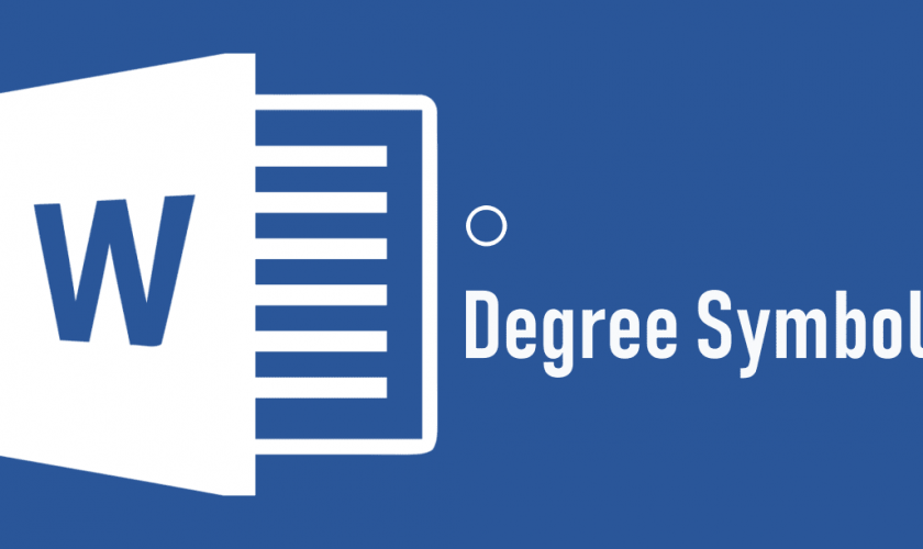 Ways to Insert Degree Symbol in MS Word - 2018