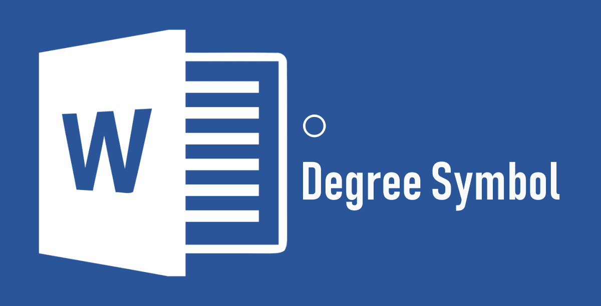 Insert Degree Symbol In Ms Word 2018
