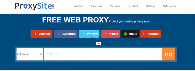 Use Proxy And Mirror Site