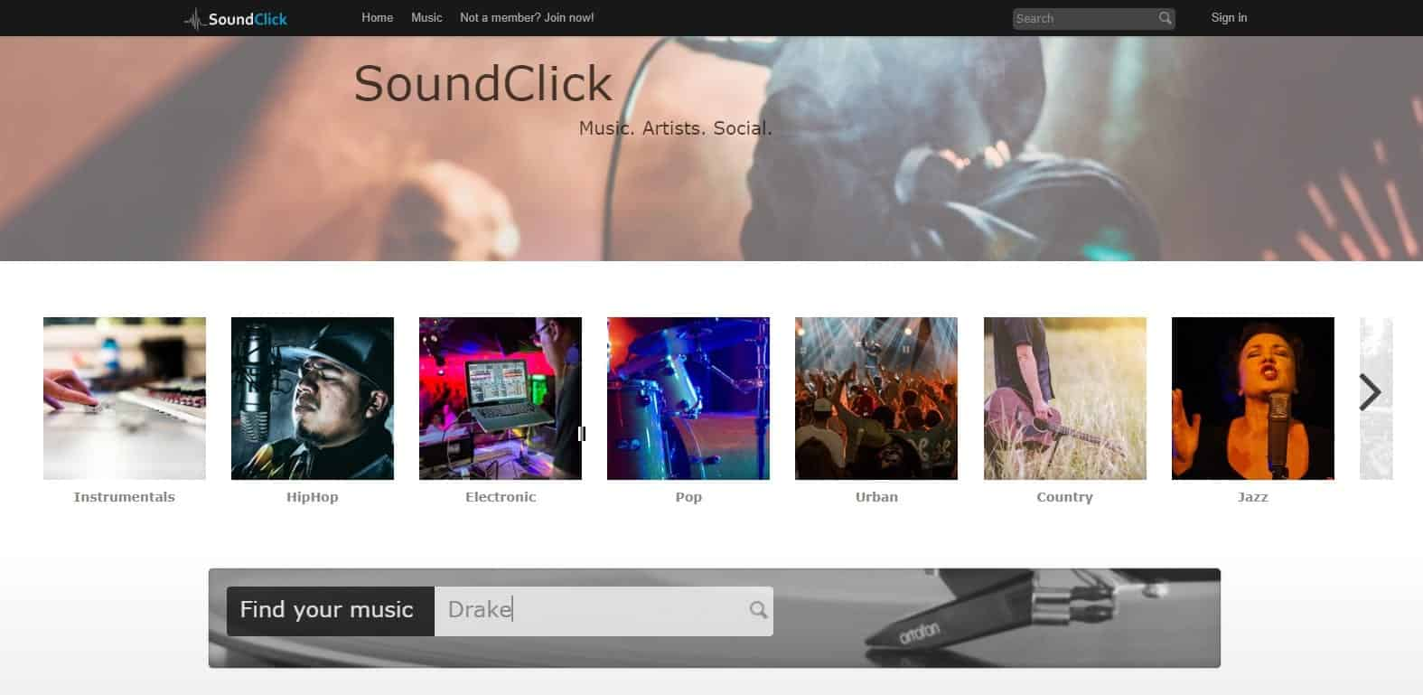 One of the best site for downloading music from artist's site itself
