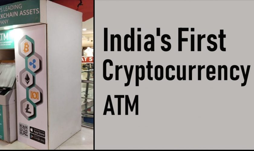 India gets its first cryptocurrency ATM in Bengaluru