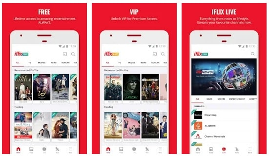 iflix- alternative to showbox