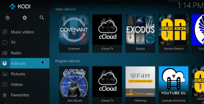 Sony is recommending Android TV users to install Kodi add-ons