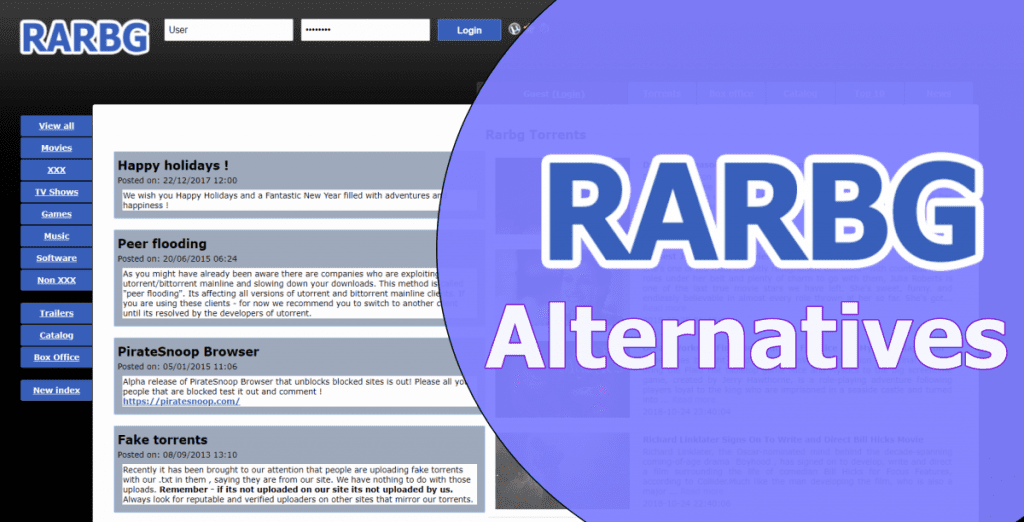 RARBG Alternatives: Torrent Sites To Download Free Movies (2018)