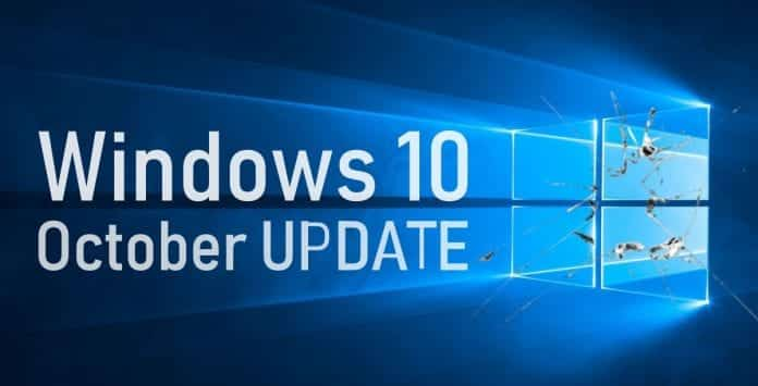 Microsoft's Windows 10 October 2018 Update Is Wiping Off User's Data
