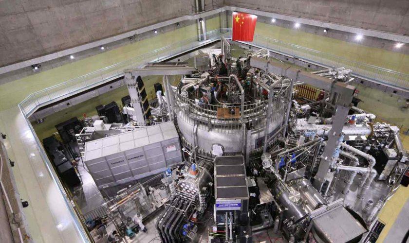 China builds an artificial sun