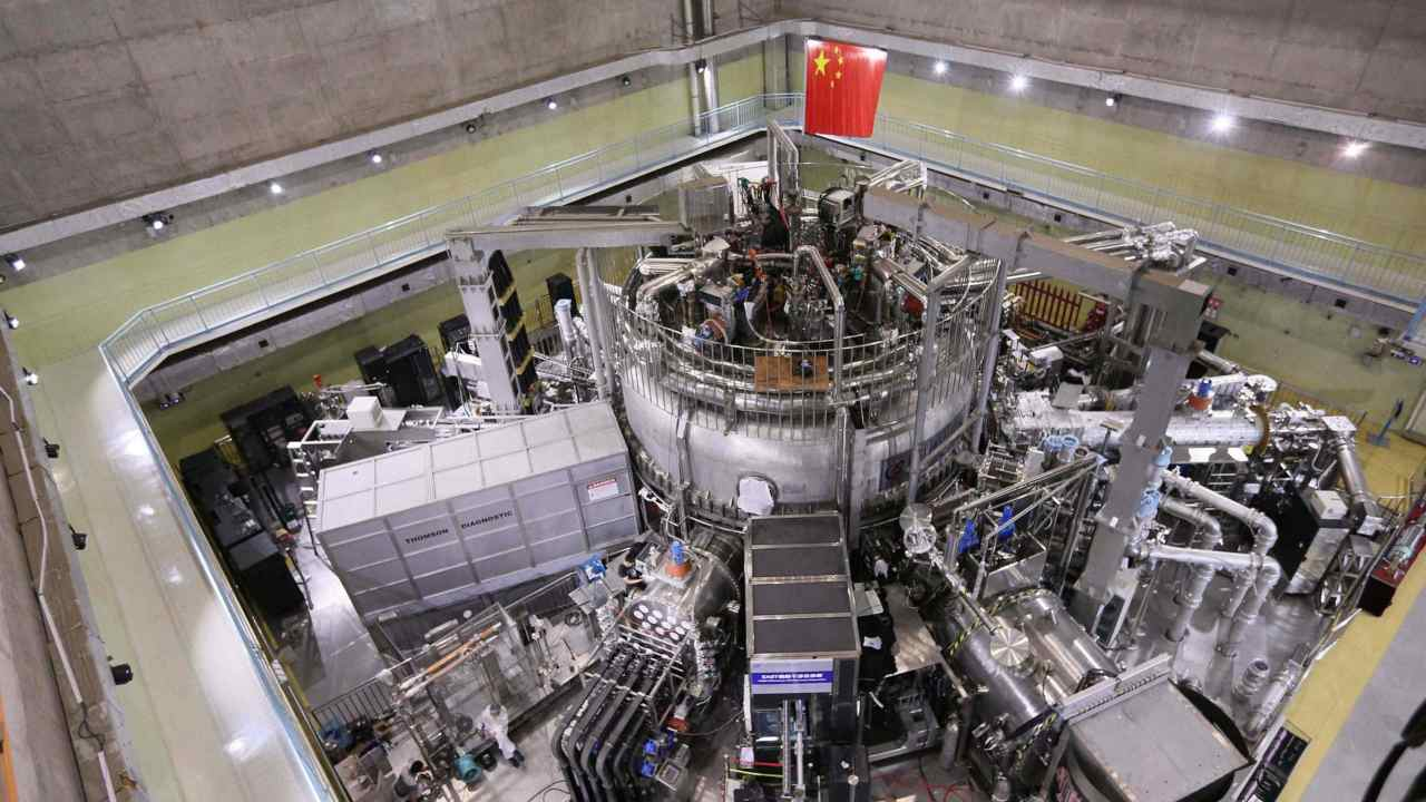 China builds an artificial sun