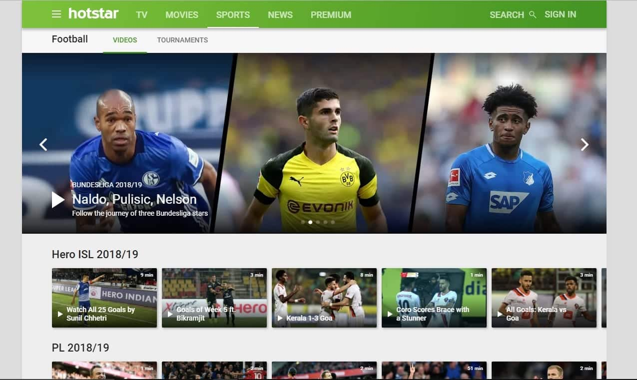 best online free football streaming sites