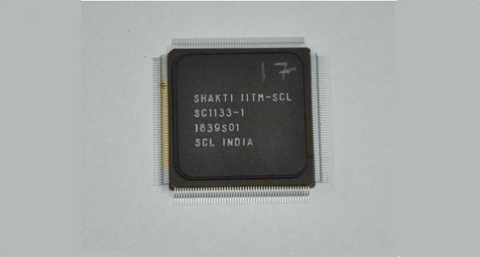 Indian researchers develop country's first microprocessor Shakti
