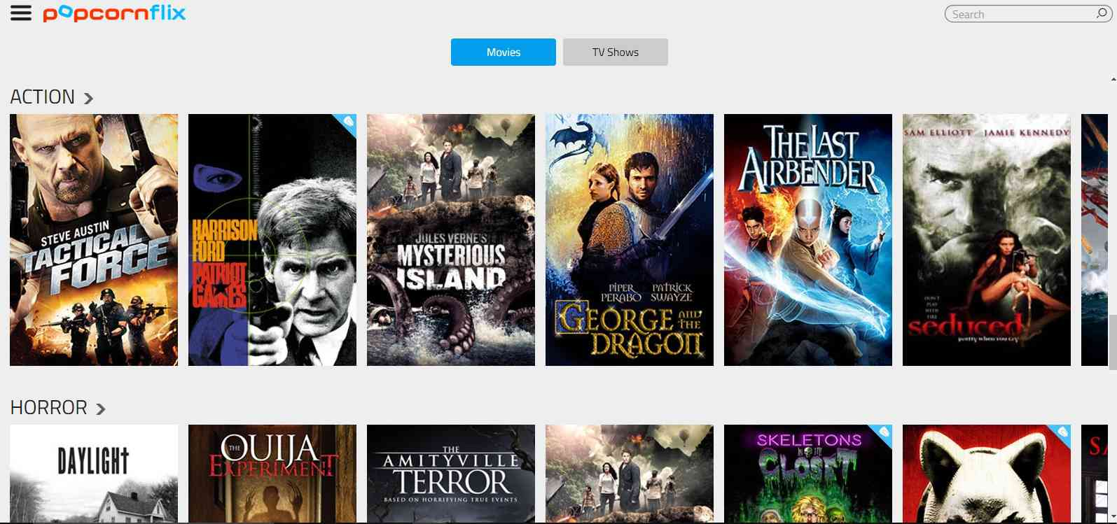 sites for free movies and tv shows