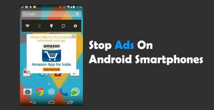 Stop Ads On Android Smartphones