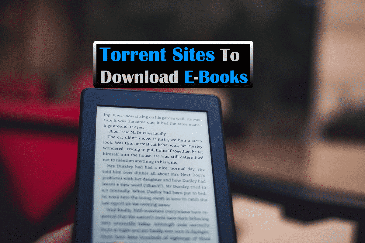 Torrent Sites To Download E-Books
