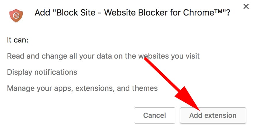 block websites in chrome