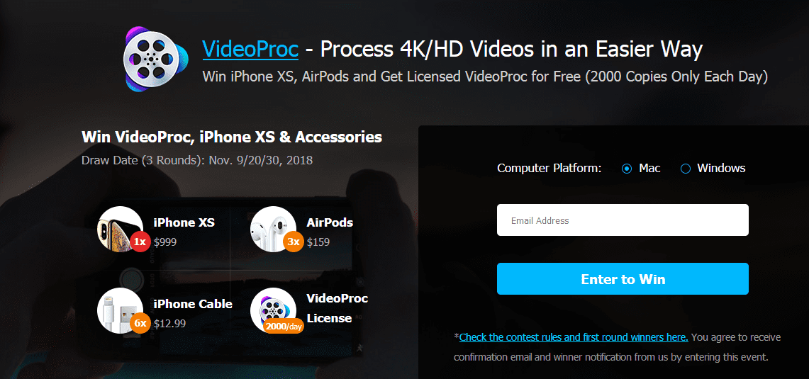 Let S Follow Steps Below To Install Videoproc Freeof Charge And Win Ipone Xsnow
