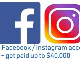 Hack Facebook or Instagram accounts and get paid up to $40,000