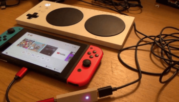 YouTuber makes Microsoft's Xbox Adaptive Controller work on the Nintendo Switch