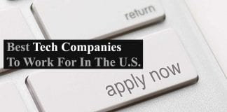 Best 29 Tech Companies To Work For In The U.S.