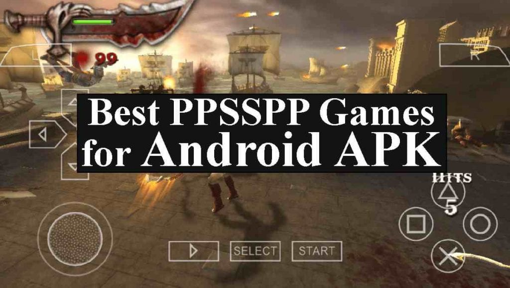 best games for ppsspp emulator android
