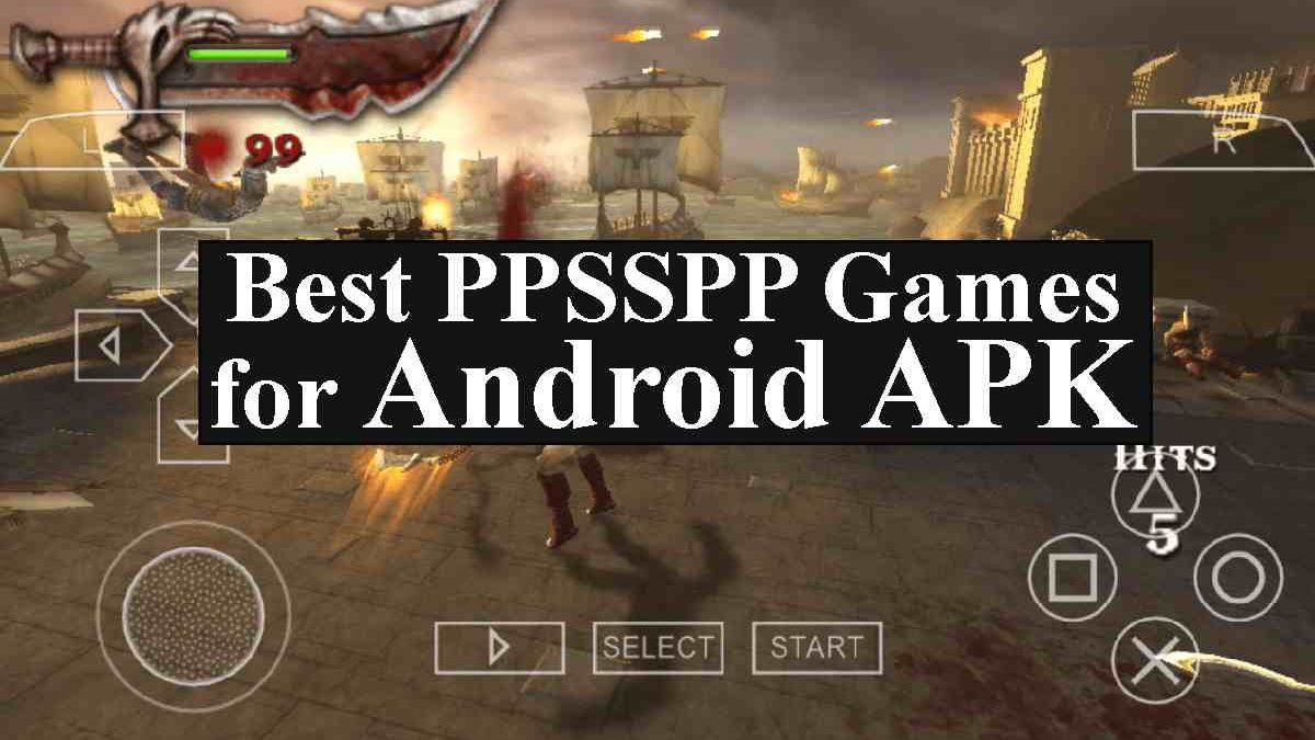10 Best Ppsspp Games For Android With Apk Download Must Play