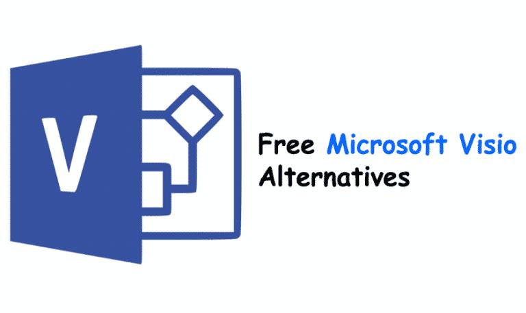 12 Best free Microsoft Visio Alternatives To Create Flowcharts