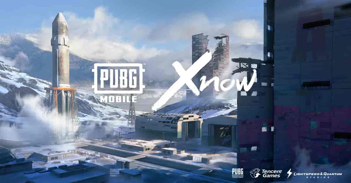 pubg mobile snow map