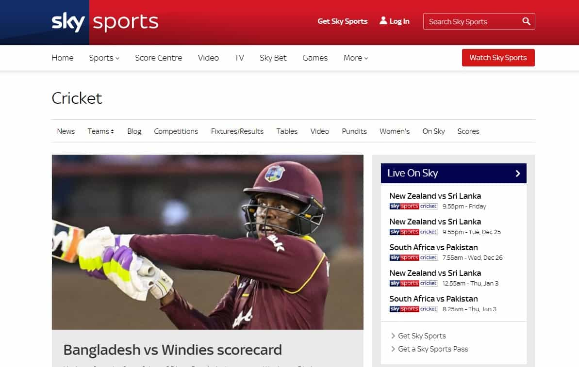 10 Best Free Live Cricket Streaming Sites In HD (100% working)