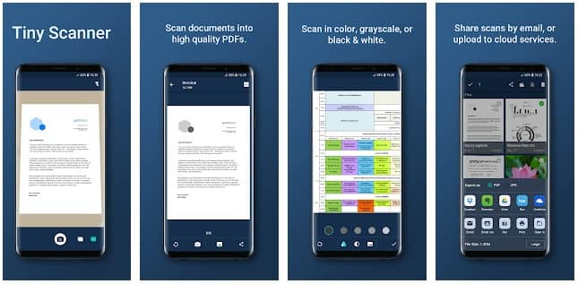 - Tiny Scanner - 10 Of The Best Free Android Apps You Should Check Out for 2019