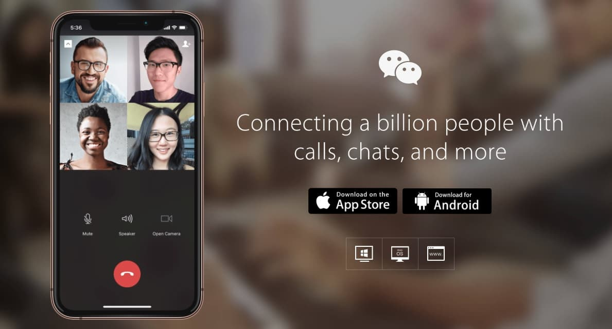 - WeChat - 10 Best Free Skype Alternatives For Windows/Android/iOS