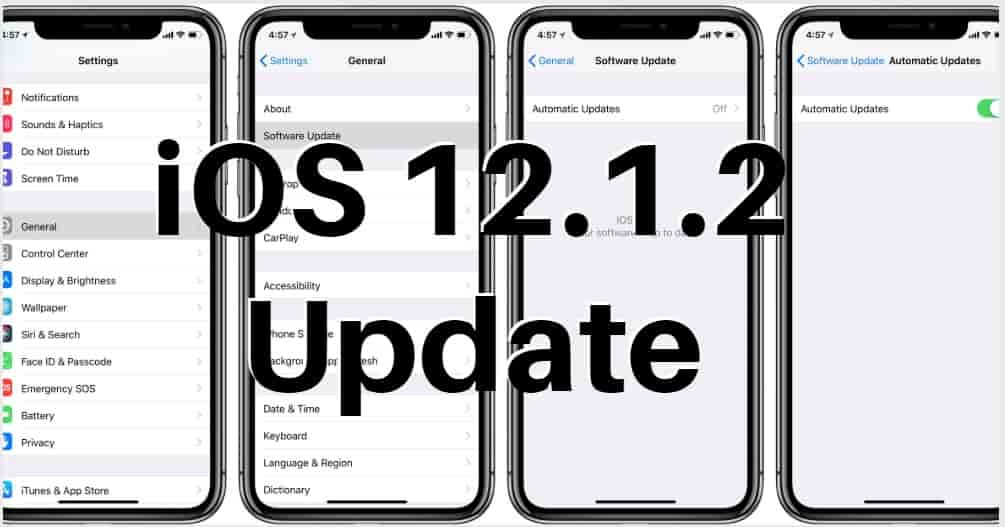 iOS 12 1 2 Bug Disconnects iPhone's From Cellular Data~ How To Fix